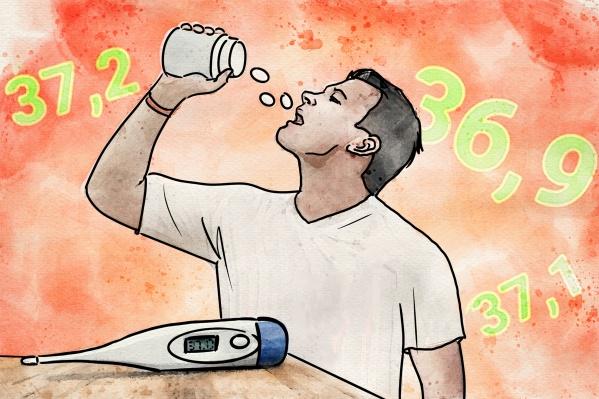Температуру 37–38 градусов врачи рекомендуют не сбивать — по крайней мере в большинстве случаев