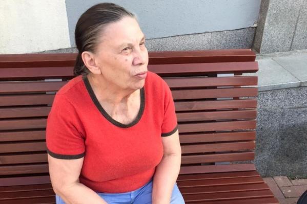 Пожилая женщина не помнила, где живет