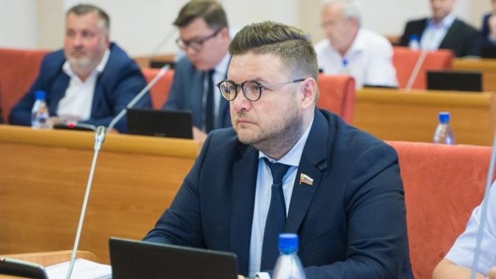 В Ярославле задержали депутата областной думы Романа Фомичёва