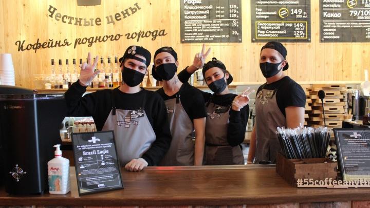 30 кофеен COFFEE ANYTIME открылось в Омске за 3 года