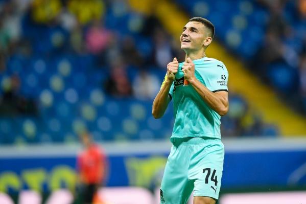 Свой первый гол Сперцян забил в матче с «Ростовом»