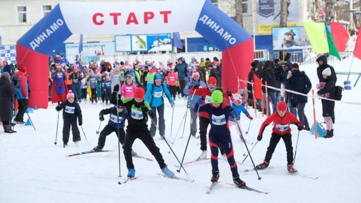 В Перми состоялся благотворительный забег на лыжах, организованный Альбертом Демченко