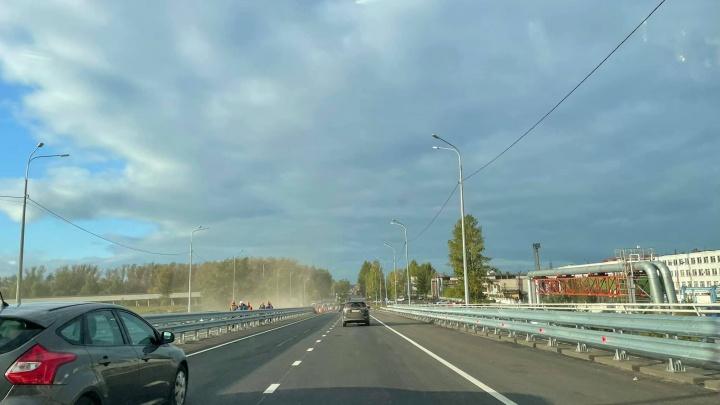 В Ярославле полностью открыли Добрынинский путепровод: