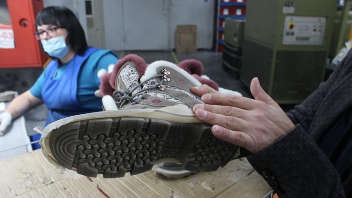 Как в Сибири делают обувь, которая продается по всей стране. Но зарплаты там меньше, чем у китайцев, в 2–3 раза