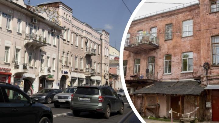 Развалюхи за величественными фасадами: как выглядит «с изнанки» улица Свободы