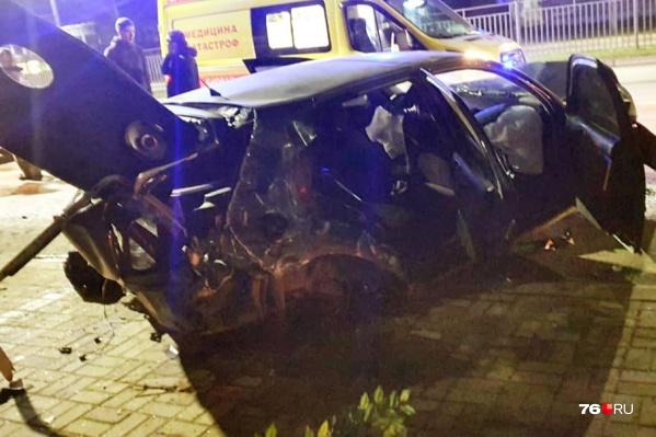 Авария случилась на проспекте Авиаторов