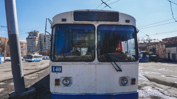 В Омске отправили на списание 16 троллейбусов