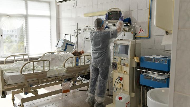 Свердловская область обновила антирекорды по заболеваемости COVID и смертности от него