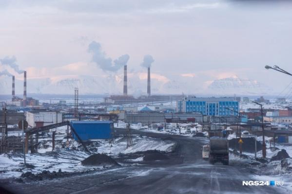 Норильск оказался абсолютным лидером по выбросам в стране