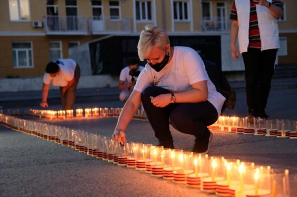 Пермяки присоединились к международной акции «Огненные картины войны», которая проходит второй год по инициативе партии «Единая Россия»