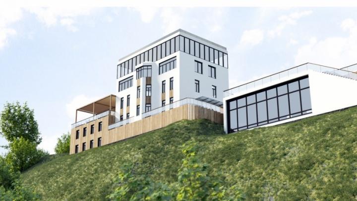 В мэрии Уфы забраковали проект замка-ресторана на набережной