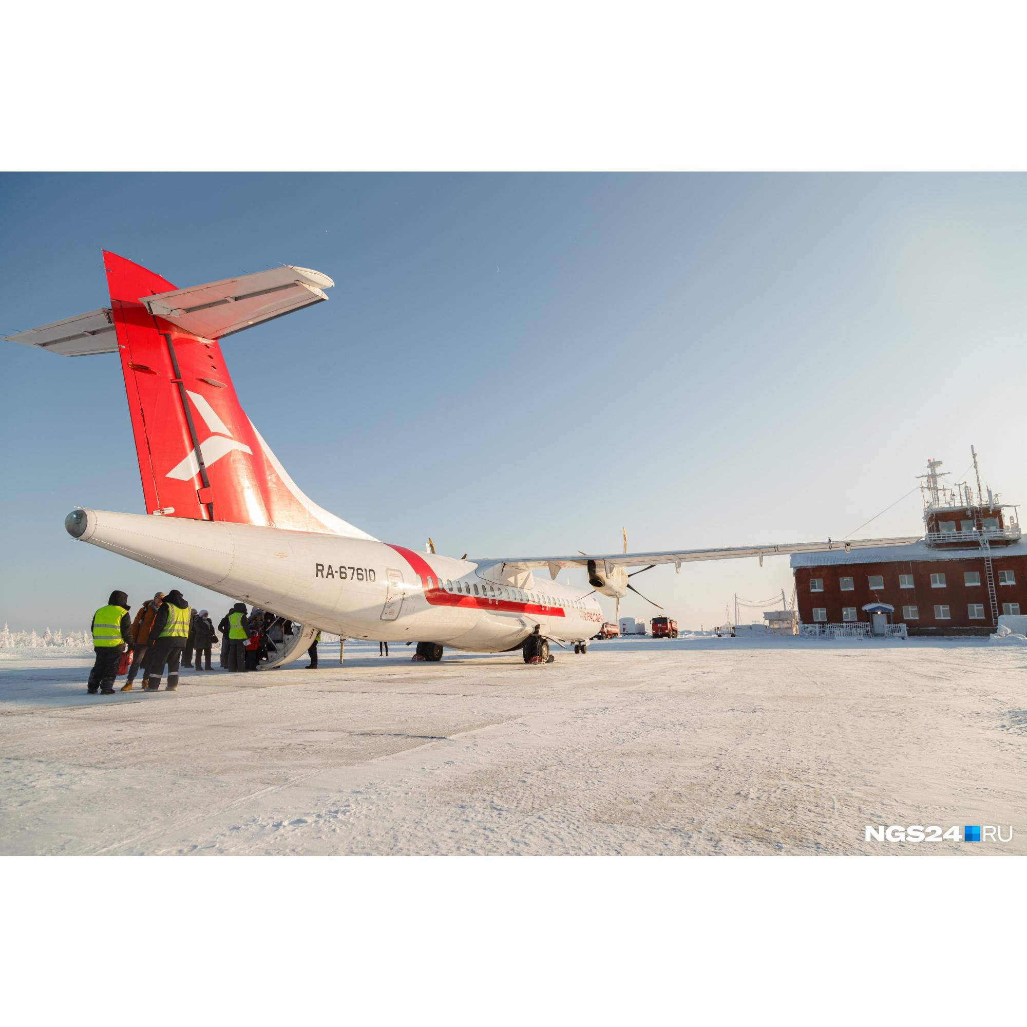 В Туру сейчас летает «Нордстар» и «КрасАвиа» — загрузка всех рейсов более 50%