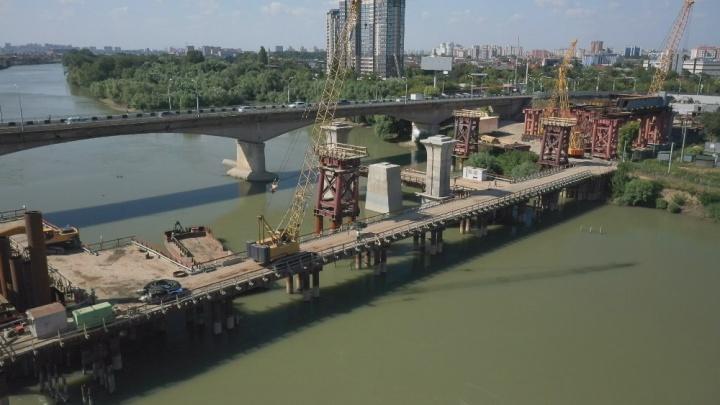 В правительстве пообещали, что новый Яблоновский мост в Краснодаре закончат на год раньше. Но это не точно