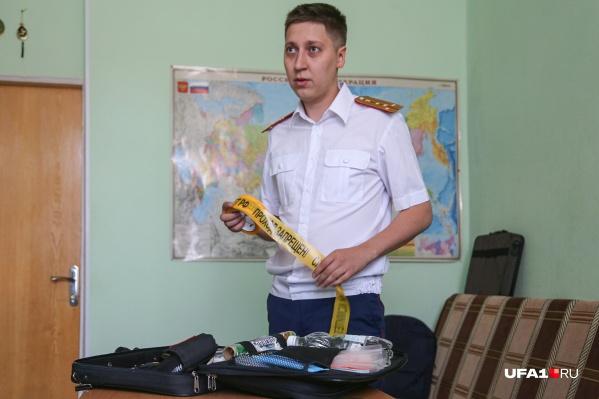 Капитан юстиции Анвар Шарипов работает в следкоме уже восемь лет