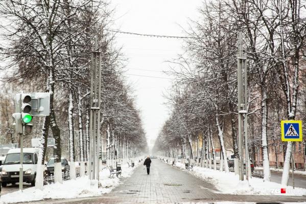 До конца января в Ярославле будет относительно тепло