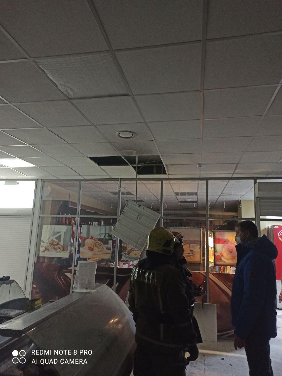Людей эвакуировали из здания, никто не пострадал