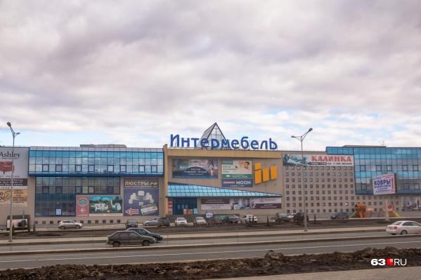 Пешеходный переход появится рядом с ТЦ «Интермебель»
