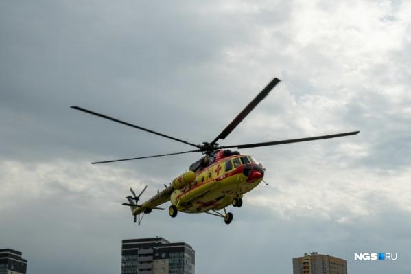 У вертолета были технические повреждения