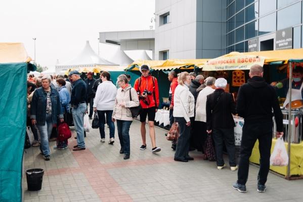 На ярмарке можно будет купить продукты, одежду, саженцы и многое другое