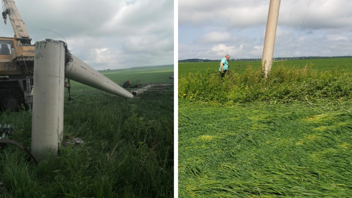 Поселки в шести районах Красноярского края остались без электричества из-за грозы
