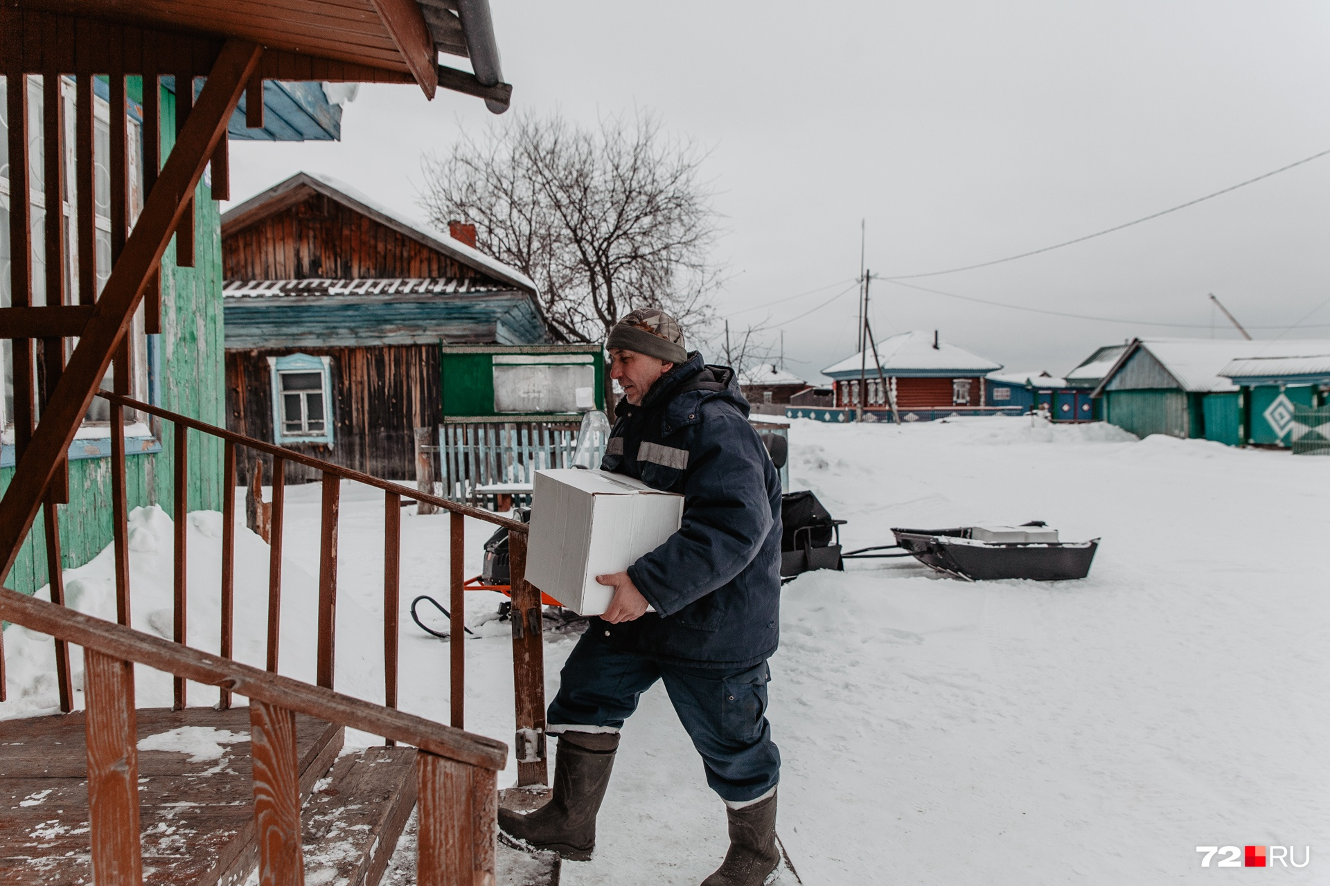 Булатов собирается перевозить семью в Нижнюю Тавду, потому что в Кускургуле нет ФАПа