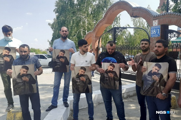 Представители азербайджанской диаспоры простились с погибшим Векилом Абдуллаевым