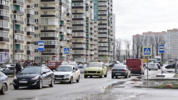 Южный обход Краснодара встал в 9-километровой пробке