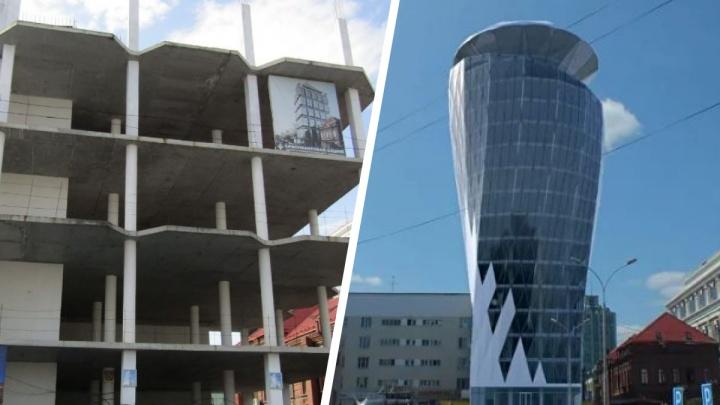 Рядом с «Пассажем» предложили построить башню с вращающейся верхушкой. В мэрии отклонили проект