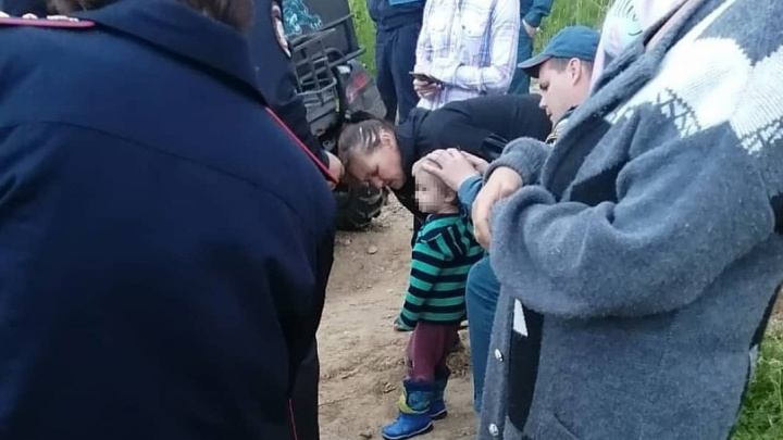 Спасатели нашли двухлетнего мальчика, потерявшегося в Златоусте