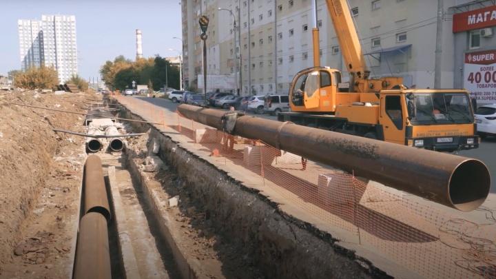 «Не надо вскрывать дороги и тротуары»: в Самаре состояние тепловых сетей проверяет робот