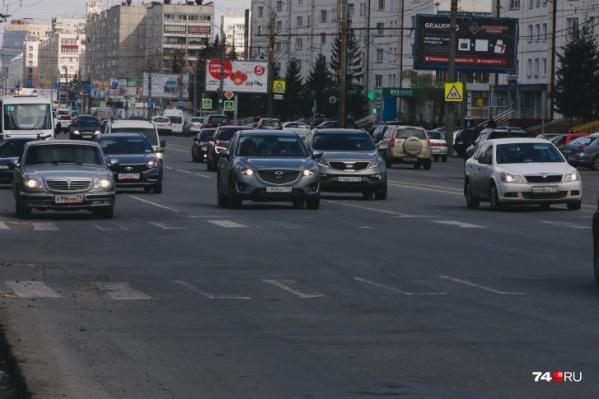 В эти выходные автомобилистам надо быть внимательнее на Комсомольском проспекте