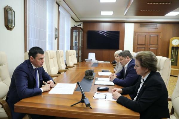Губернатор Дмитрий Миронов отметил, что депутаты Госдумы активно участвуют в решении важных региональных проблем