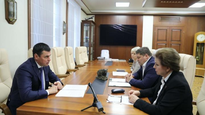 Дмитрий Миронов с депутатами Госдумы обсудил перспективы развития Ярославского региона