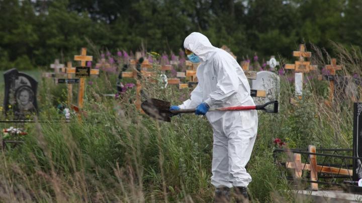 Росстат: каждый пятый умерший в июне омич болел коронавирусом