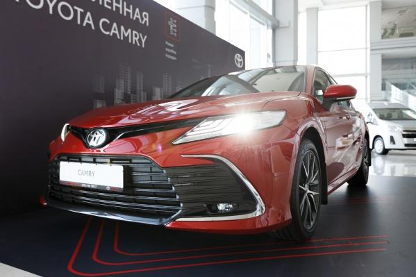 Составить представление о новой Toyota Camry можно в ближайшие выходные в «Тойота Центр Челябинск Восток»