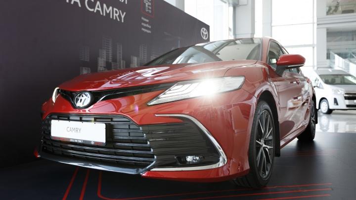 Рестайлинговая Toyota Camry докатилась до Челябинска: как попасть на презентацию и тест-драйв