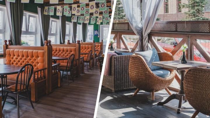 Где в Перми уже открылись летние веранды при кафе и ресторанах (а также магазинах). Обзор