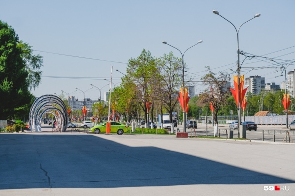Парад в этом году будем смотреть на улице Ленина