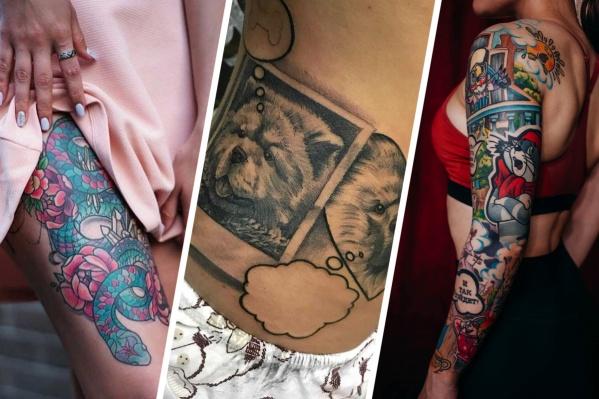 Кто-то делает татуировку в качестве украшения, а кто-то тщательно продумывает эскиз. Такие татуировки несут в себе смысл для владельца