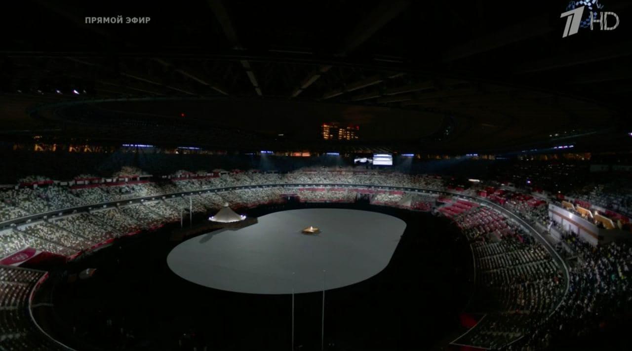 Минута молчания над Национальным стадионом