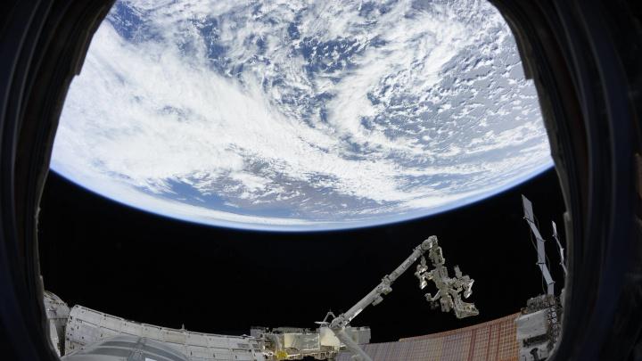Жаль, оттуда не видны пробки: космонавт сфотографировал Волжскую ГЭС с МКС
