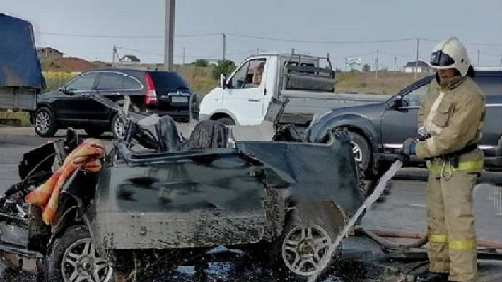 На Нестюковском тракте из-за не уступившего дорогу КАМАЗа погиб водитель «Оки»