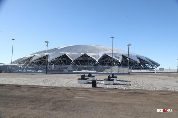 Собственностью Самарской области является лишь конструктив арены, без инженерных сетей, систем и движимого имущества