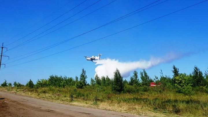 МЧС объявило о полной ликвидации пожара в Тольятти