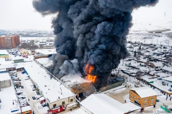 Связь с пожарными была утеряна