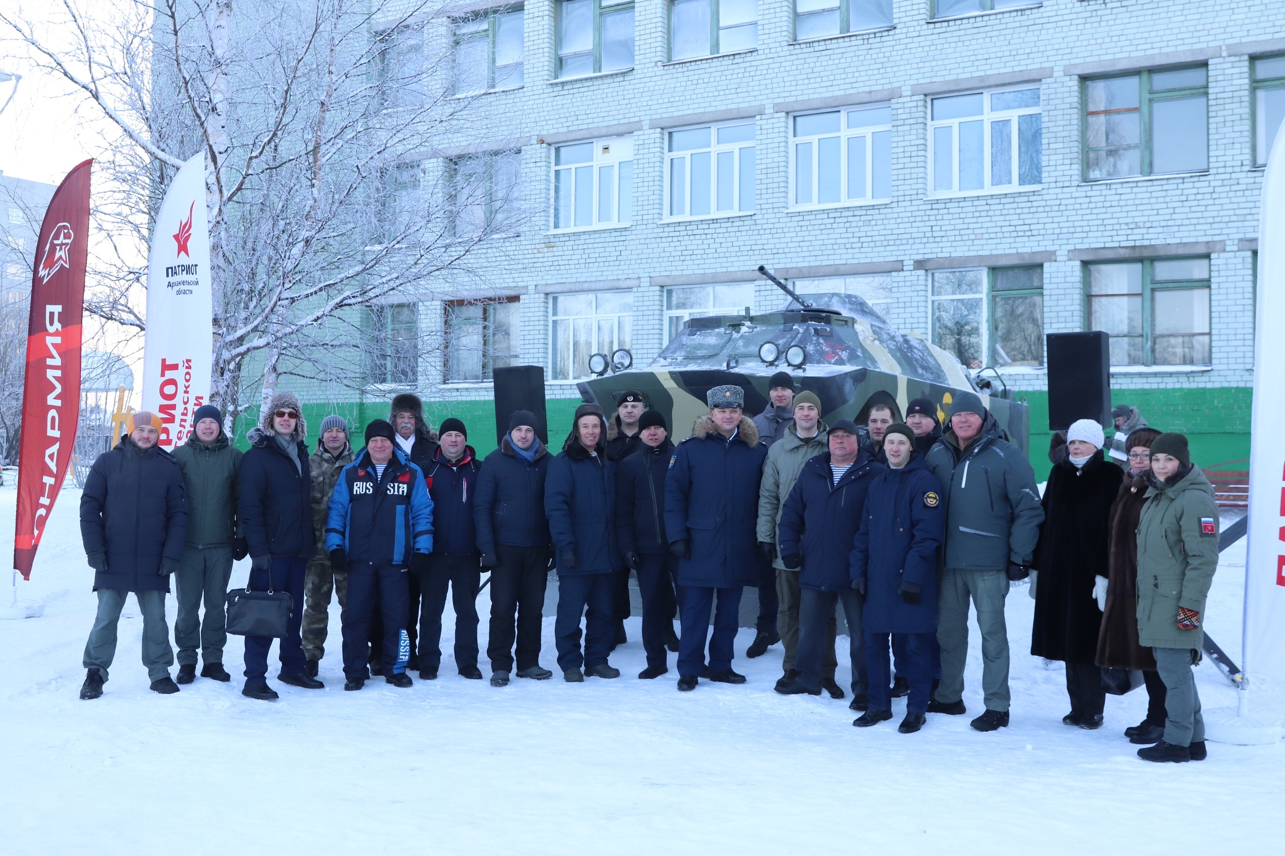 Макет будут использовать для обучения юнармейцев Архангельска