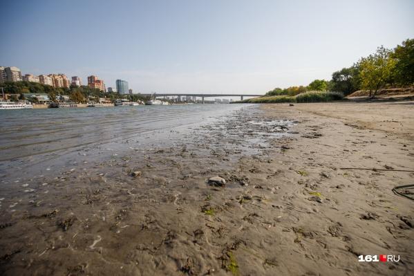 Ученые говорят о сильном обмелении реки к октябрю