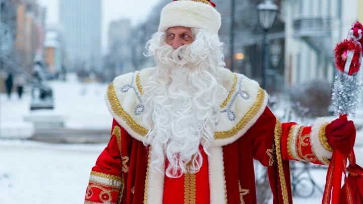 Дед Мороз и Снегурочка попали в ДТП в Сургуте