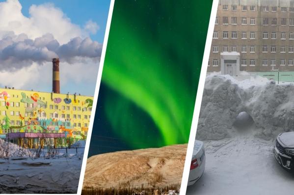 """Норильск — один из пяти северных городов мира с населением больше 100 тысяч человек. По последним данным, тут живет более <nobr class=""""_"""">180 тысяч</nobr>"""