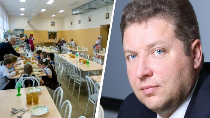 Экс-глава управления образования Красноярска Храмцов взялся за проблемное школьное питание